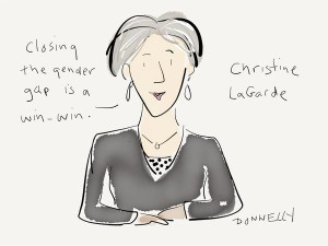 lagarde by liza donnelly